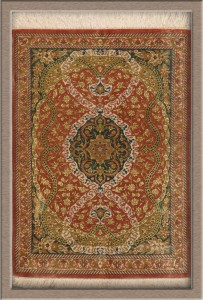 Persian Quom Silk Rug