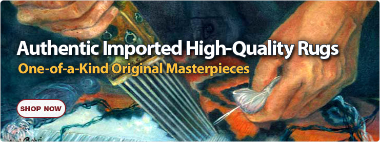 Authentic imported high-quality rugs
