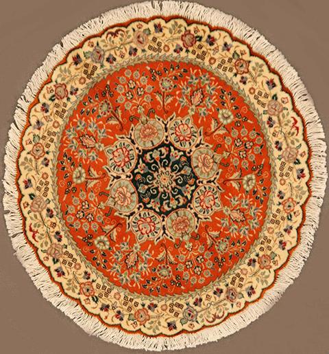 Round Tabriz 3 Diameter